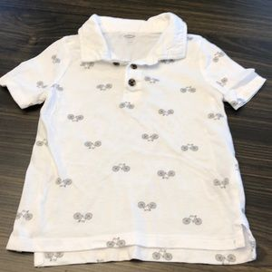 Cotton Collared T-Shirt Size 3T